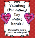 Pal-entine Writing Templates