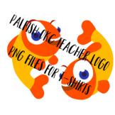 PalFish OKC Transparent Teacher Logo PNG File for Making T-Shirts/Stickers