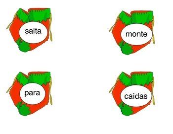 Palabas compuestas compound words.