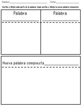 Palabras Compuestas/ Compound Words In Spanish