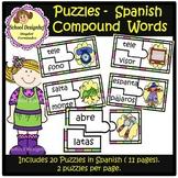 Palabras Compuestas - Puzzles / Puzzles Compound Words Spanish(School Designhcf)