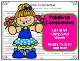 Palabras Compuestas/Spanish Compund Words