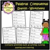 Palabras Compuestas Worksheets / Compound Words / Spanish(School Designhcf)