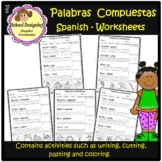 Palabras Compuestas Worksheets / Compound Words / Spanish(