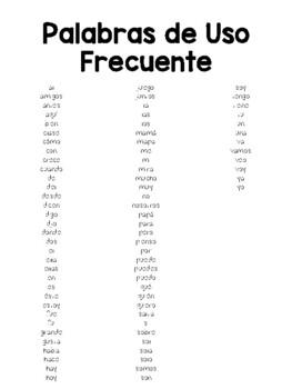 Palabras Frecuentes Deluxe!