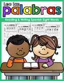Leo las palabras: Reading & Writing Spanish Sight Words