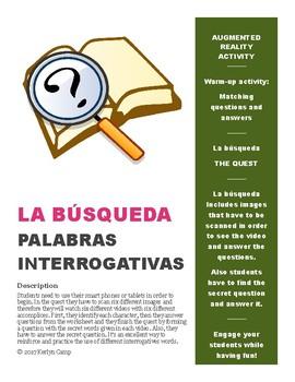 Palabras Interrogativas - Question Words