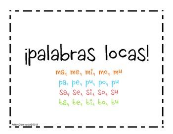 Palabras Locas (M,S,P,T)