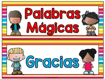 Palabras Magicas Worksheets & Teaching Resources | TpT