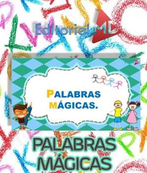 Palabras Magicas Para Niños Para Imprimir