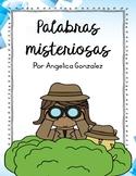 Palabras Misteriosas (Secret Code Mystery Words SPANISH)