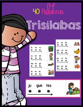 Palabras Trisílabas