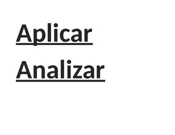 Palabras académicas importantes en español