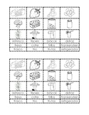 Palabras con FR matching/sorting activity (2 per page)