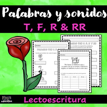 Palabras con T R RR F