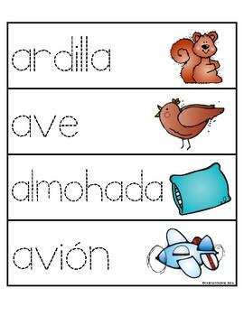 Palabras con la letra Aa