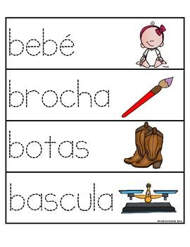 Palabras con la letra Bb