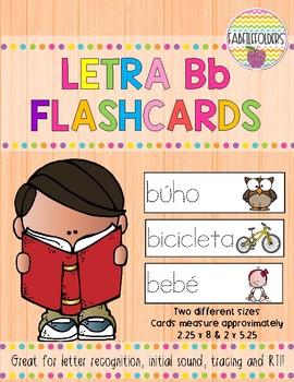 Letra Bb-Flashcards