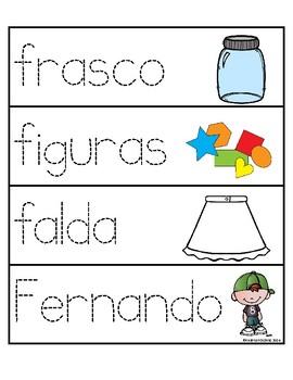 Palabras con la letra Ff