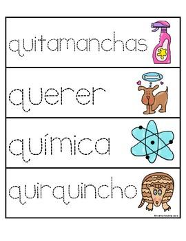 Palabras con la letra Qq