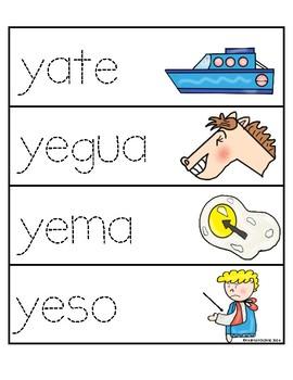 Letra Yy-Flashcards