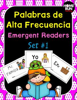 Palabras de Alta Frecuencia Emergent Readers (Spanish Emergent Readers)