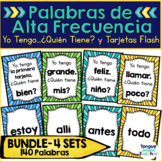 Palabras de Alta Frecuencia - High Frequency Spanish Words - Bundled
