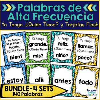 Palabras de Alta Frecuencia - High Frequency Spanish Words