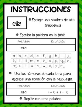 Palabras de Scrabble (Spanish)