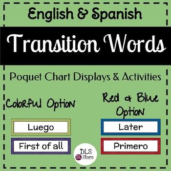 Transition words / writing workshop / taller de escritura