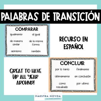 Palabras de Transición