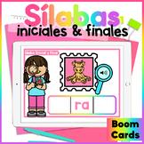 Palabras de Tres Sílabas - Boom Cards
