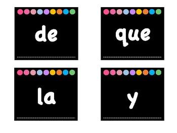 Palabras de Uso Frecuente en Español