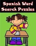 Palabras de dos silabas:  Spanish Word Search Puzzles