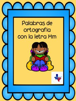 Palabras de ortografia con la letra M/ Spanish speliing words with the letter M