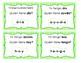 Palabras de uso frecuente: 1er Grado - Set #4 -High Freque