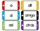 Palabras de uso frecuente: Lee, teclea y escribe