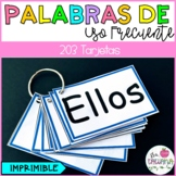 Palabras de uso frecuente (Tarjetas)/ Sight words flashcards