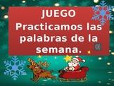 Palabras de uso frecuente (game for Christmas)