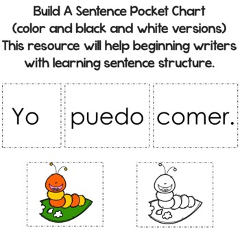 """Spanish High Frequency Words """"yo"""" and """"puedo"""""""