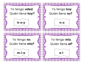 Palabras de uso frecuente: Kinder Set # 2 - High Frequency Words game