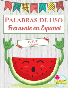 Palabras de uso frequente/ Spansih high frequency words