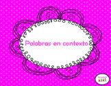 Palabras en contexto (Claves en contexto)