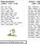 Palabras más frecuentes en español; High frequency words in Spanish w/Eng & rank