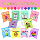 Palabras motivadoras Banner - Colour me Confetti
