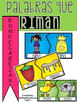 Palabras que Riman - Rompecabezas