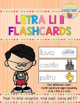 Letra Ll ll-Flashcards
