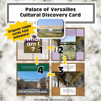 Palace of Versailles Cultural Discovery Card