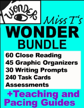 Palacio's Wonder Novel BUNDLE