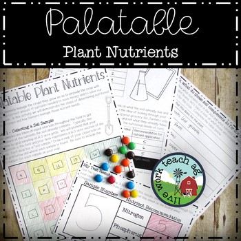 Palatable Plant Nutrients (Analyzing soil sample results for plant needs)